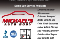 Michaels Auto Body 0816